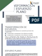 TRANS. ESFUERZO PLANO - GRUPO 3