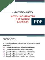 Capítulo VIII - Medidas de Assimetria e Curtose - Exercícios.pdf
