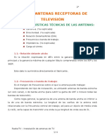 Tema 1 - Antenas receptoras de TV