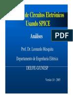 Análise de Circuitos Eletrônicos Usando Spice-aula 09 2005