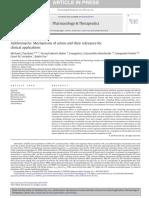 Macrólidos mechanism of action