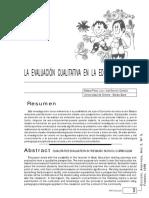 EVALUACIÓN CUALITATIVA-SABER ULA