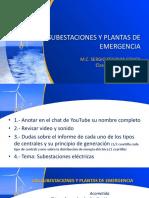 SUBESTACIONES Y PLANTAS DE EMERGENCIA 2020