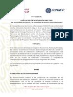 Convocatoria Renovación PNPC 2019