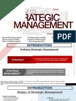 Strategy Management Process