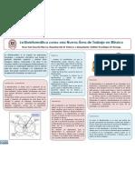 Bioinformática como Nueva Área de Trabajo en México - Poster