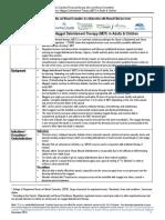 Procedure Maggot Debridement Therapy