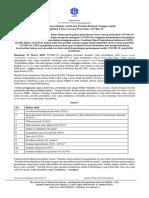 [23032020] Siaran Pers - Daftar Sementara Bahan Aktif dan Produk Rumah Tangga untuk Disinfeksi Virus COVID-19