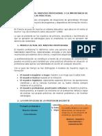 LA COMPETENCIA DEL MAESTRO PROFESIONAL O LA IMPORTANCIA DE SABER ORGANIZAR LAS PRACTICAS