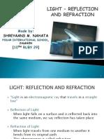 light-reflectionandrefraction-161109184736