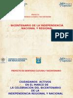 PROYECTO IDENTIDAD REGIONAL Y BICENTENARIO-2020