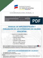 MANUAL PARA LA IMPLEMENTACION Y EVALUACION DE LOS ESTANDARES DE CALIDAD EDUCATIVA.pptx