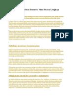 Contoh  Cara Membuat Business Plan.docx