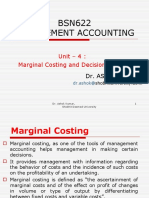 MA Unit - 4 Marginal Costing and Decision Making.ppt