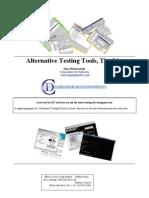 Alternative Testing Tools List