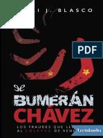 Bumerán Chávez - Emili J. Blasco