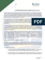 PROTOCOLO DE MUFACE PARA REALIZACIÓN DE PCRs AL CNP