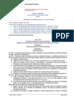 Exercitarea profesiei de medic stomatolog. Organizarea și funcționarea Colegiului Medicilor Stomatologi din România