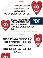 TRÊS PALAVRINHAS