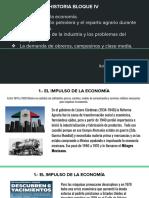 ROBERTO MENDIETA CHÁVEZ - La situación económica en el país y la apertura comercial. Expansión urbana, desigualdad y protestas sociales del campo y la ciudad.