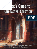 Ethck's Guide to Character Creation