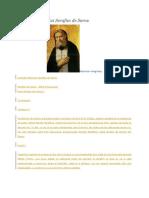 Acatistul Sfantului Serafim de Sarov