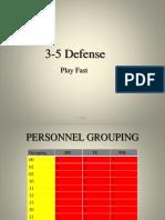 Finley 3-5 Defense