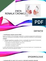 Insuficiența renală cronică