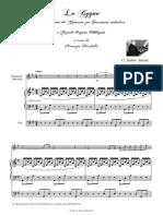 Saint-Saens Il Cigno per Str.Melodico e Grande Organo
