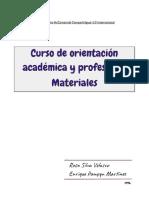 Curso de Orientación Académica y Profesional. Materiales