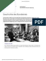 Geschichte des Bundesrats