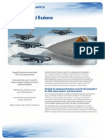 F-16 Wide Band Radome