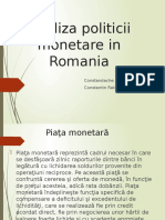 Analiza politicii monetare in Romania.pptx