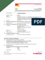 MSDS 1-Bromooctane (Sigma Aldrich)