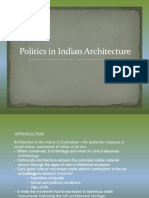 Politics in Architecture- India