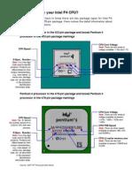Faq How to Identify P4 CPU e