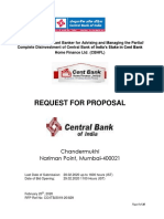 Central Bank of India Divestment RFP.pdf