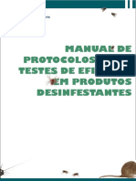 3 Tecnologia Dos Processos Industriais Testes de Eficácis de Desinfetantes Anvisa