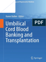 (Stem Cell Biology and Regenerative Medicine) Karen Ballen (eds.) - Umbilical Cord Blood Banking and Transplantation-Springer International Publishing (2014).pdf