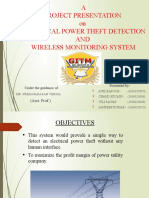 ELECTRICAL POWER THEFT DETECTION.pptx
