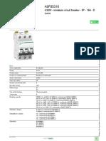 Miniature Circuit Breaker_ Acti9 iC60_A9F85316