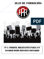 Cuadernillo 1 Perfil Militante Para Un Anarquismo Revolucionario