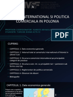 COMERT INTERNATIONAL SI POLITICA