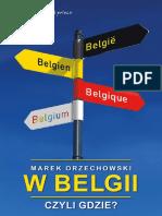 W Belgii, czyli gdzie_ - Marek Orzechowski.pdf