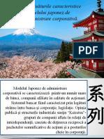Trăsăturile caracteristice modelului japonez de administrare corporativă.pptx