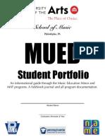 uarts mued portfolio 2020
