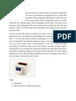 Prinsip Caretium XC-A30 ESR analyzer