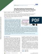 Temperature-Dependent Electrochemical Characteristics