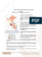 (Eng) Report on the Coronavirus Emergency in Perú 27.03