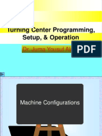 Turning Center Programming, Setup, & Operation